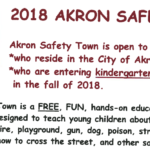 2018 Safety Town